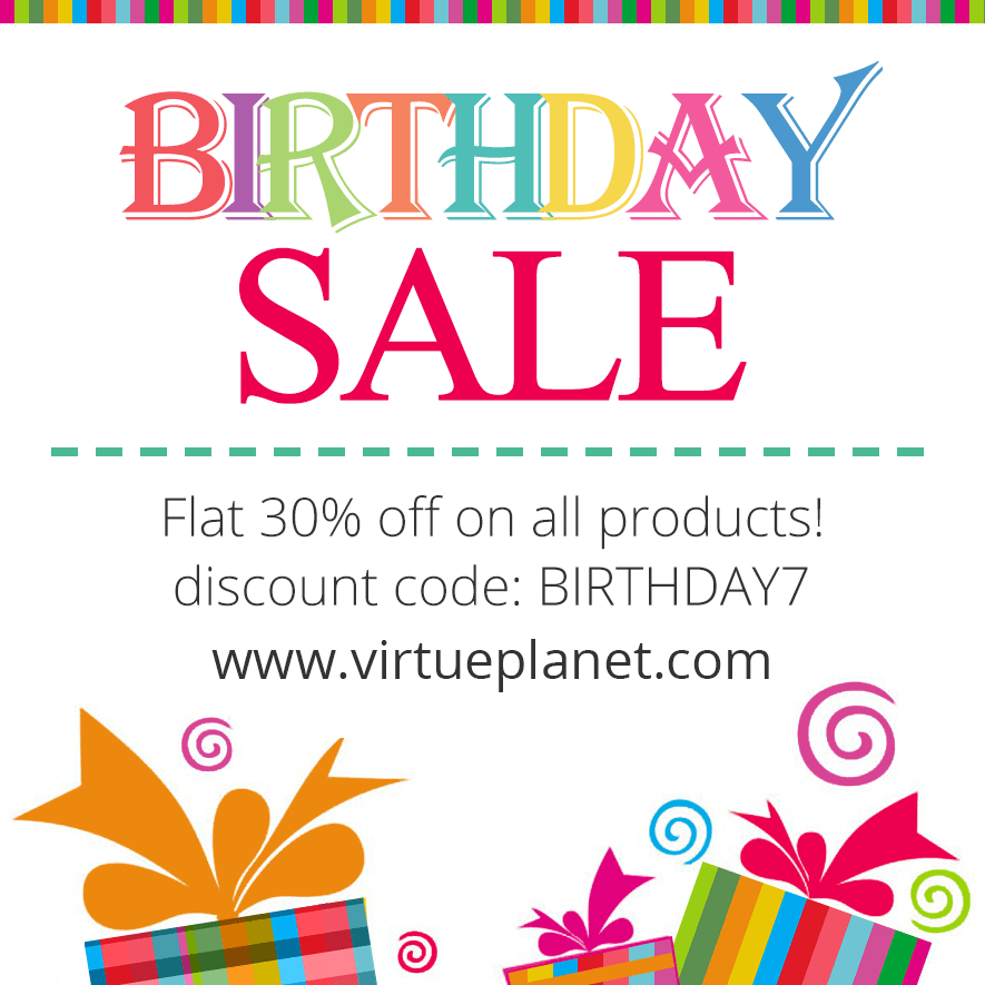7th Birthday Sale