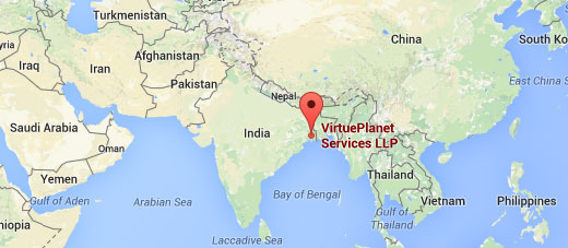 VirtuePlanet Map